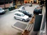 Баба за рулём! Паркуемся 3)))))